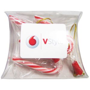 Pillow Pack Filled with Candy Canes x3