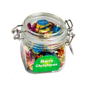 Christmas Chocolate Eclairs In Canister 100G