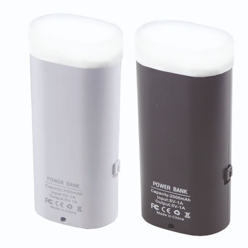 Pb004 Torch Power Bank 2000