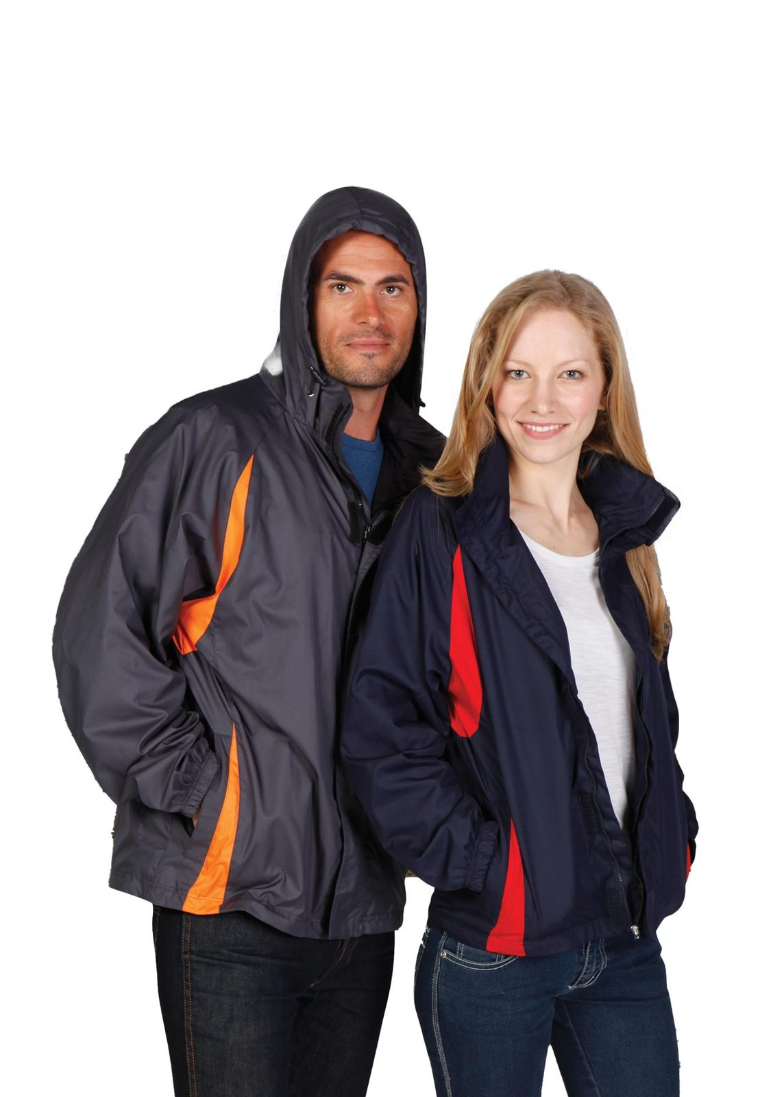 Ladies/Junior Shower  Proof Sportech Nylon Jacket