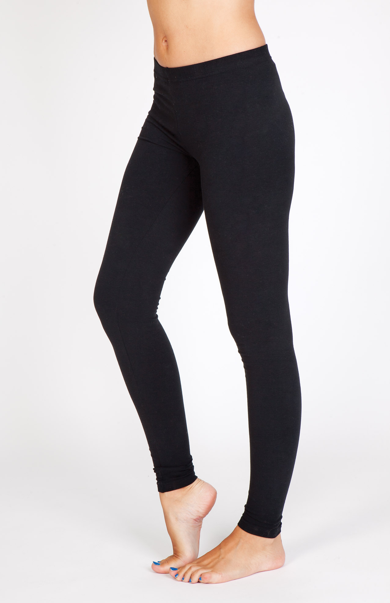 Ladies Spandex Full Length Legging