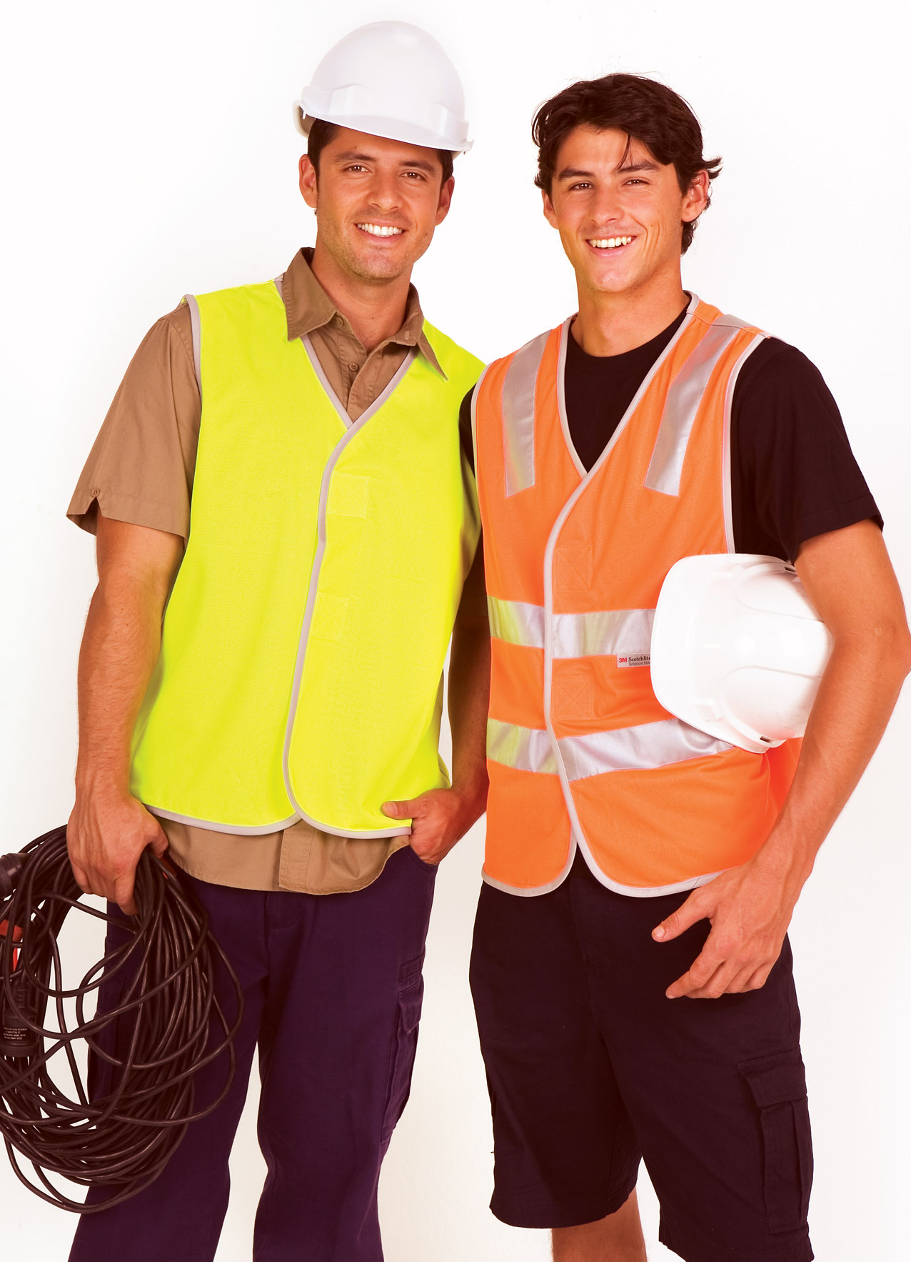 100% Polyeter Vest without reflective tape